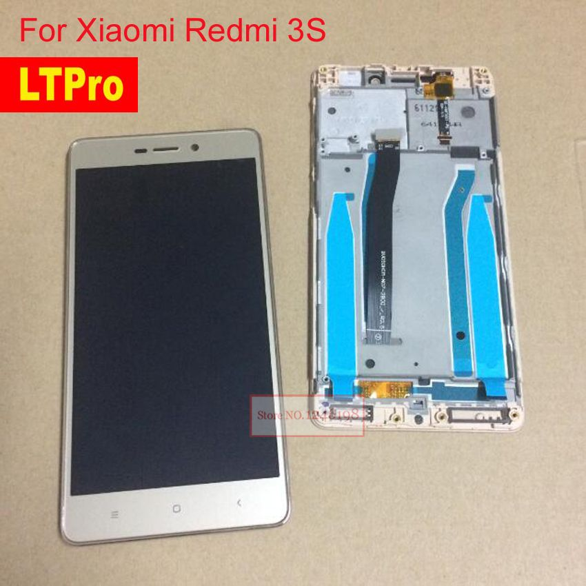 9a03ad9f37ad LTPro For Xiaomi Redmi 3S LCD Display Touch Panel Screen Digitizer Assembly  with Frame For Redmi 3S Pro   Prime Mobile Parts