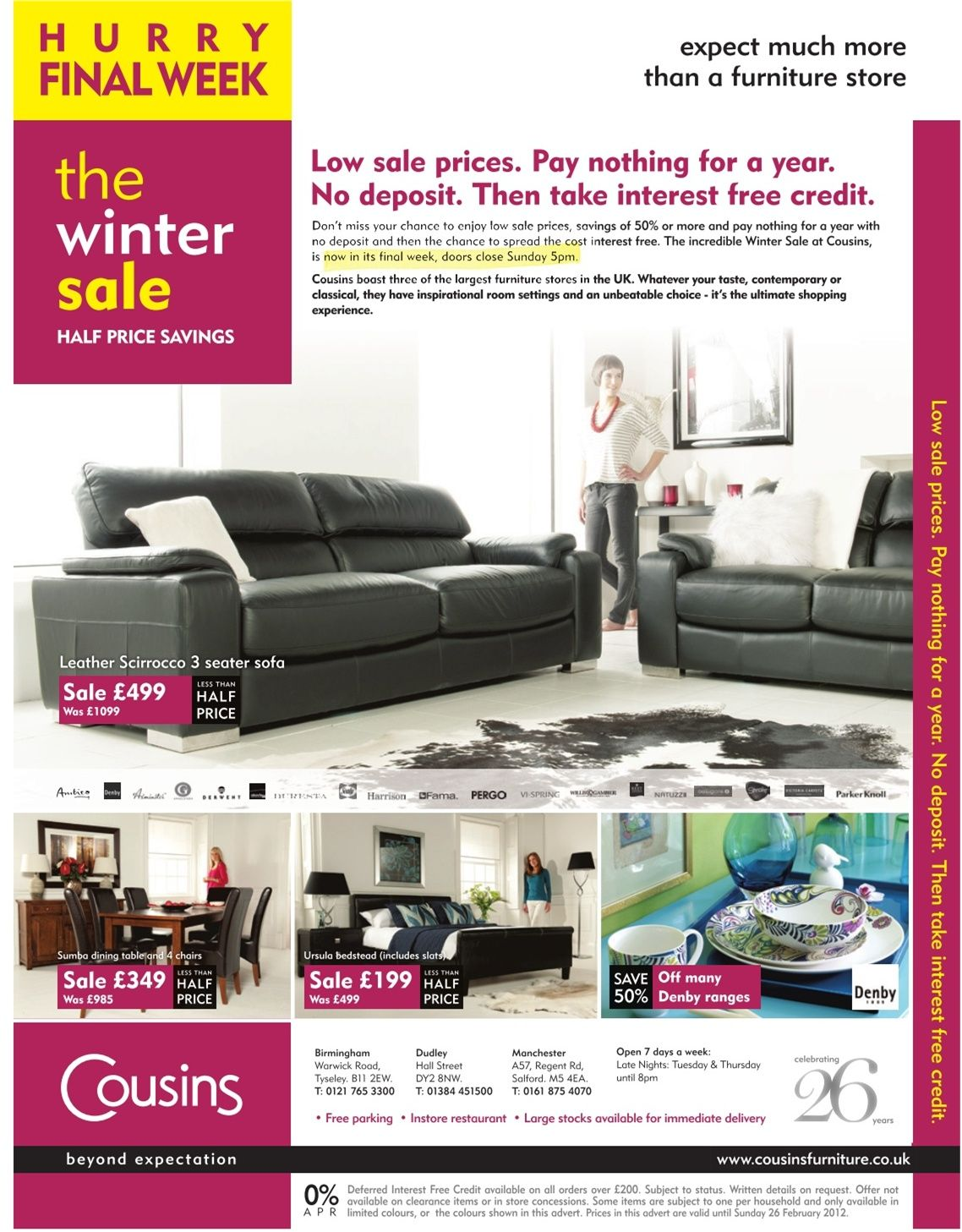 16022012017005jpg 11381457 Furniture Ad Pinterest Ads