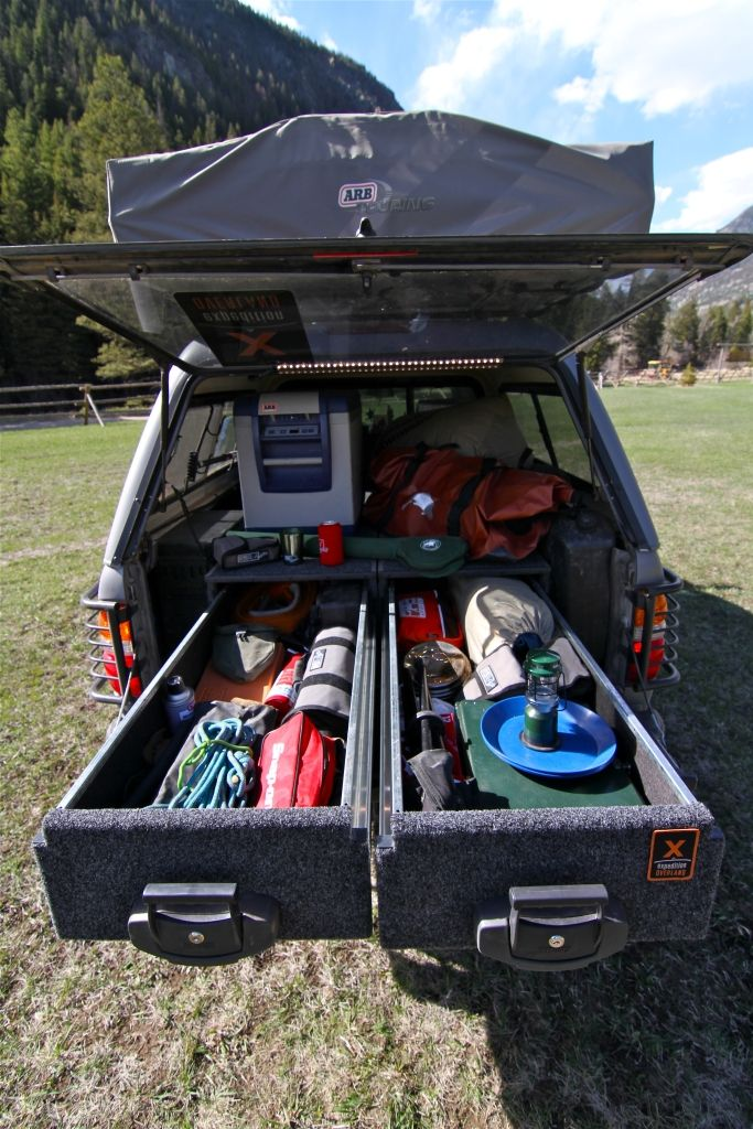 2001 Toyota Tacoma :: Expedition Overland Vehicle Builds - More awesome storage for the truck
