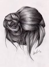 Photo of hair styles sketch – Google Search, | bun sketches hair style #Google #Hair #Sea…,  #Bun #d…