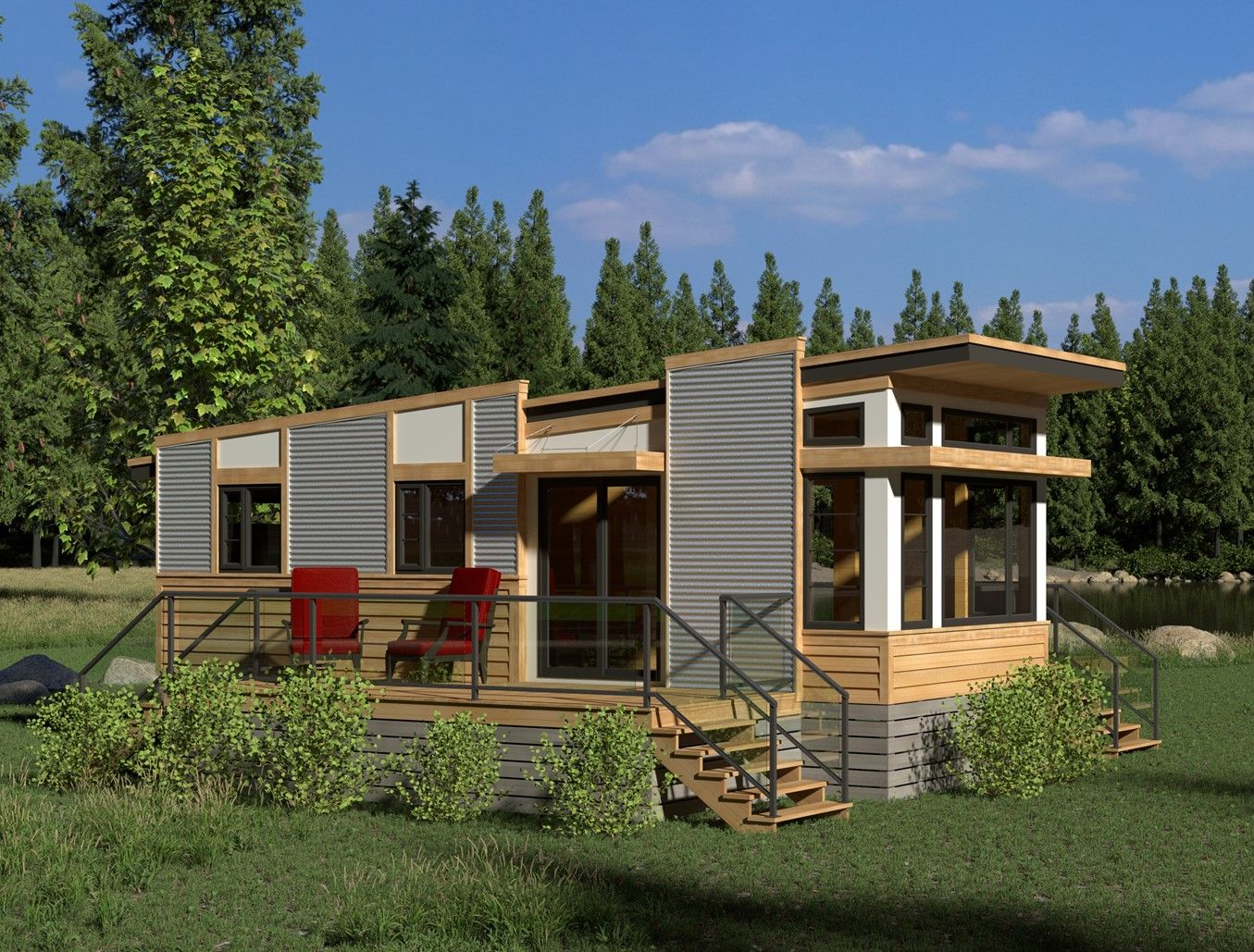 Contemporary Magnolia-378 in 2020 | Tiny house luxury ...