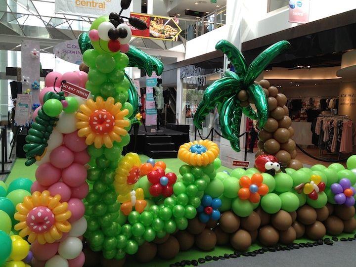 27 incre bles decoraciones con globos ii decoraci n - Decoraciones con globos ...
