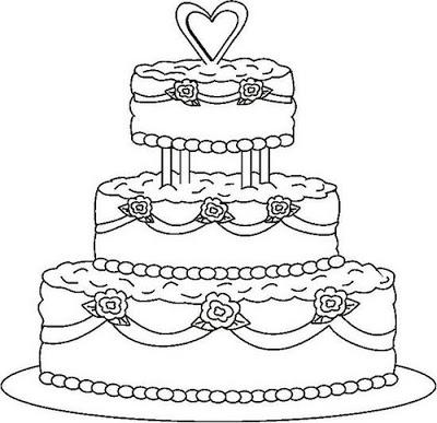 Wedding Cake Cartoon Google Search Wedding Coloring Pages Cupcake Coloring Pages Coloring Pages For Kids