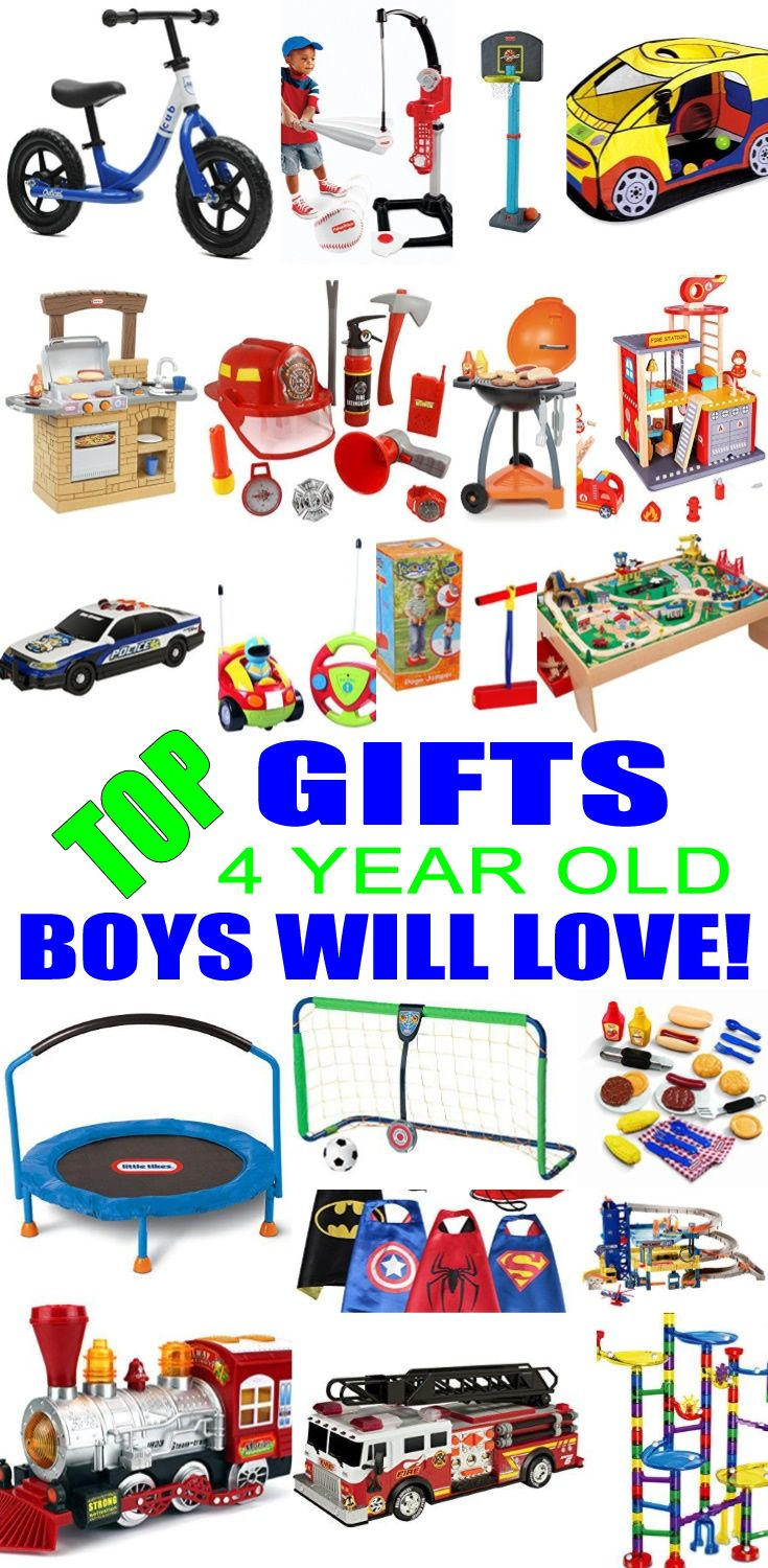 Best Gifts 4 Year Old Boys Will Love | Top Kids Birthday Party Ideas ...