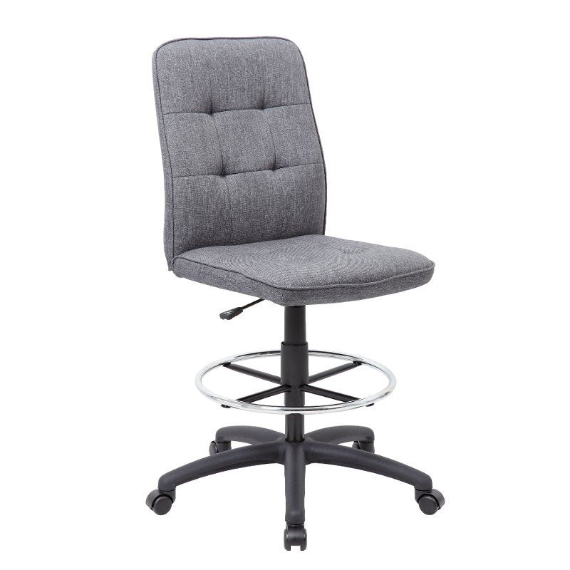 Gray office drafting chair drafting chair series