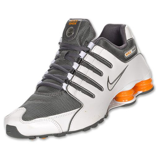 a0195b96aed372 ... new style nike shox nz si in white grey orange omg yesssss 545df 07d16
