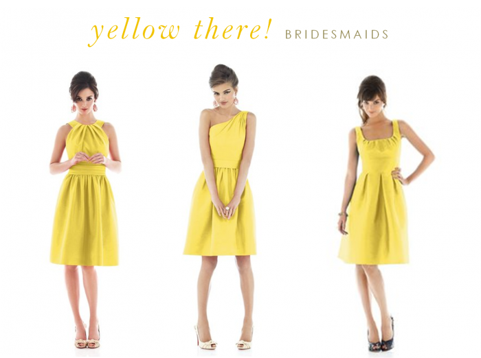 yellow dresses for bridesmaids and guests yellow bridesmaid
