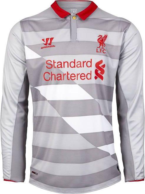 Liverpool 2014-15 Warrior Sports Goalkeeper Kit  51057b340