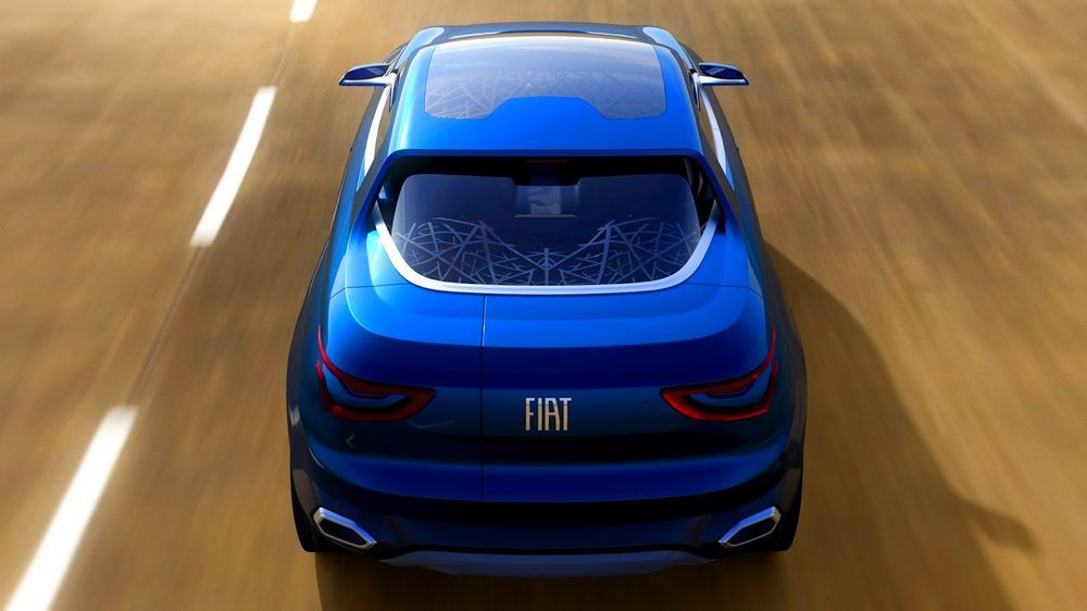 New Review Fiat Concept Car IV FCC Release Rear View Model