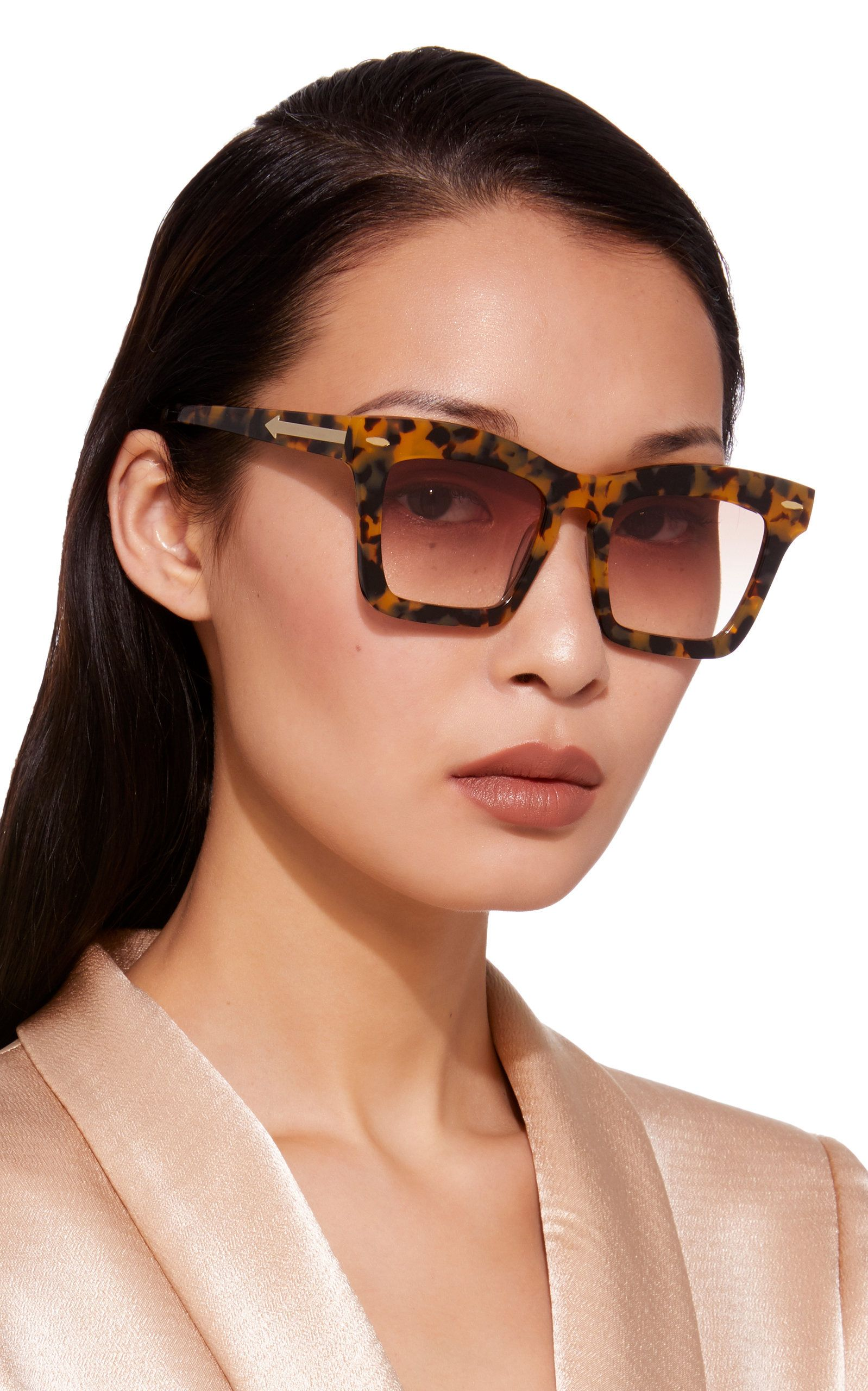 2968ffb0a5abb Banks Square Acetate Sunglasses by KAREN WALKER