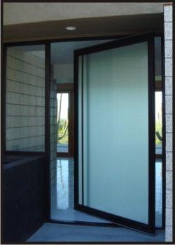 Rustic Elegance Doors Steel Framed Glazed Pivot Entry