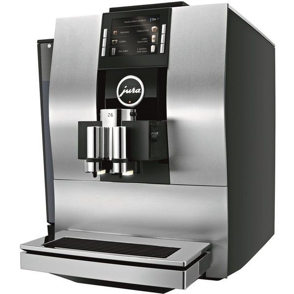 Jura Z6 Automatic Coffee Machine ($3,040) ❤ liked on Polyvore featuring home, kitchen & dining, small appliances, jura coffee machine, jura, jura coffee maker and compact coffee maker #juracoffeemachine Jura Z6 Automatic Coffee Machine ($3,040) ❤ liked on Polyvore featuring home, kitchen & dining, small appliances, jura coffee machine, jura, jura coffee maker and compact coffee maker #automaticcoffeemachine