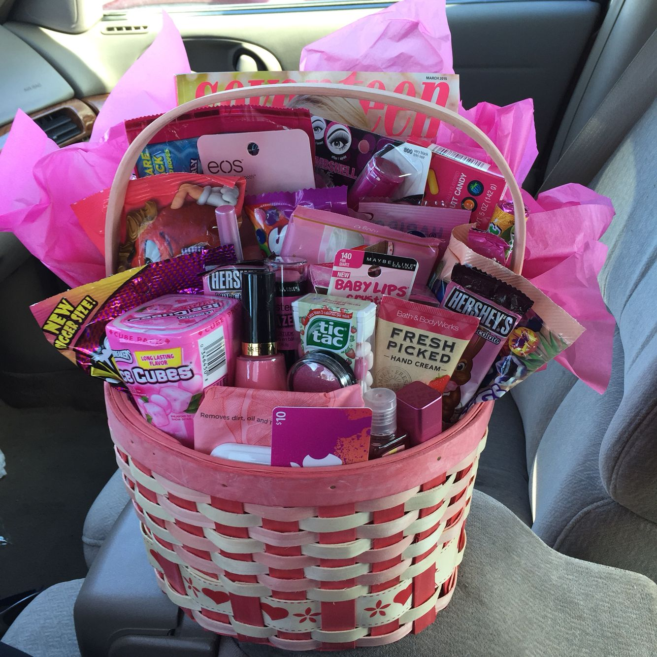 Sweet Sixteen Birthday Gift Baskets 16th Birthday Gifts