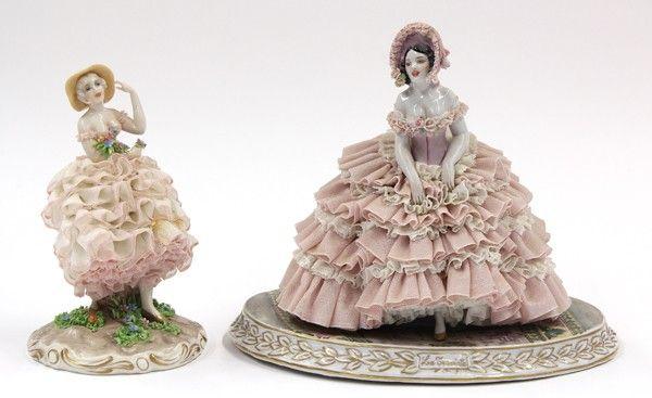 Luigi Fabris porcelain figures