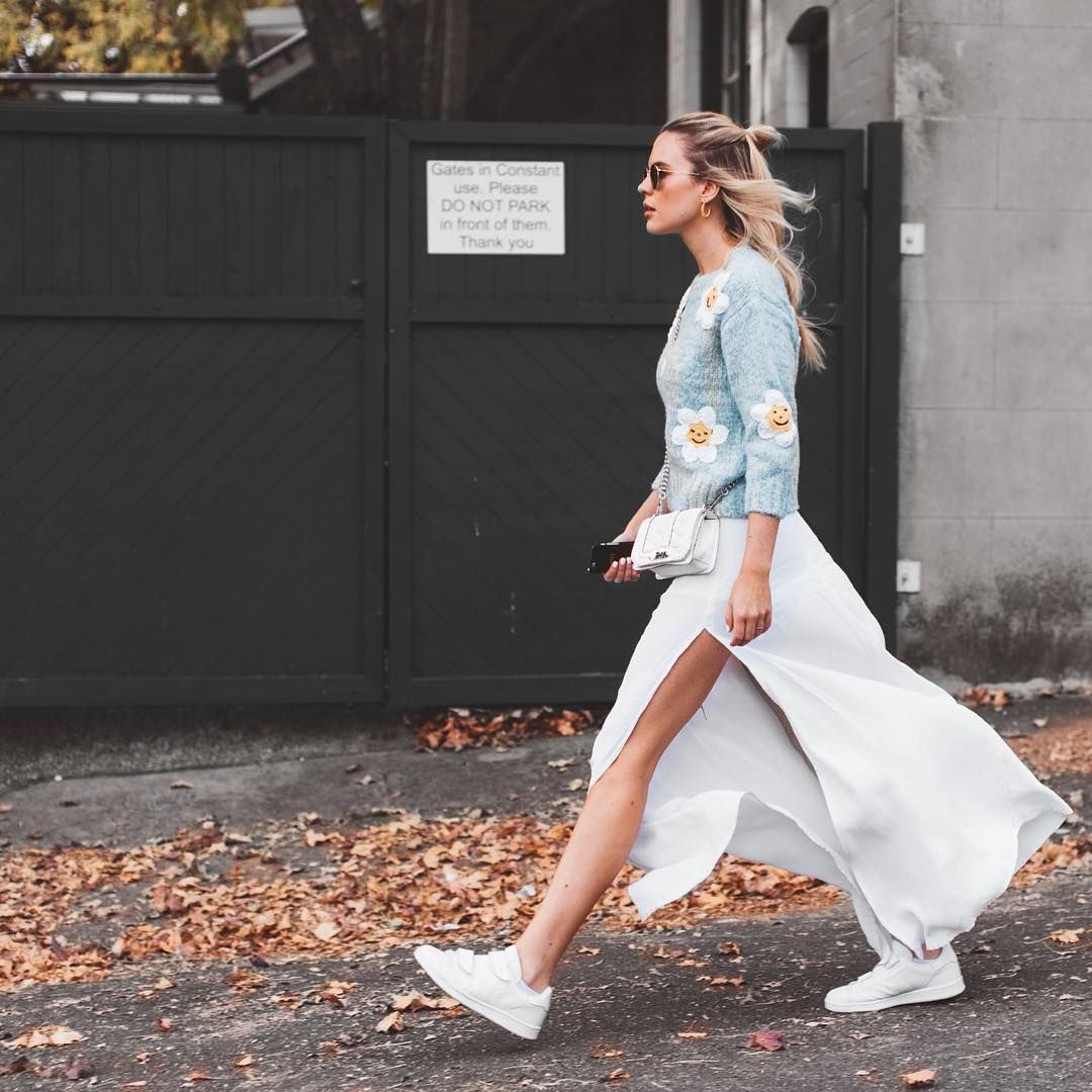 Sneakers | Nike | Whie shoes | Autumn | Streetstyle