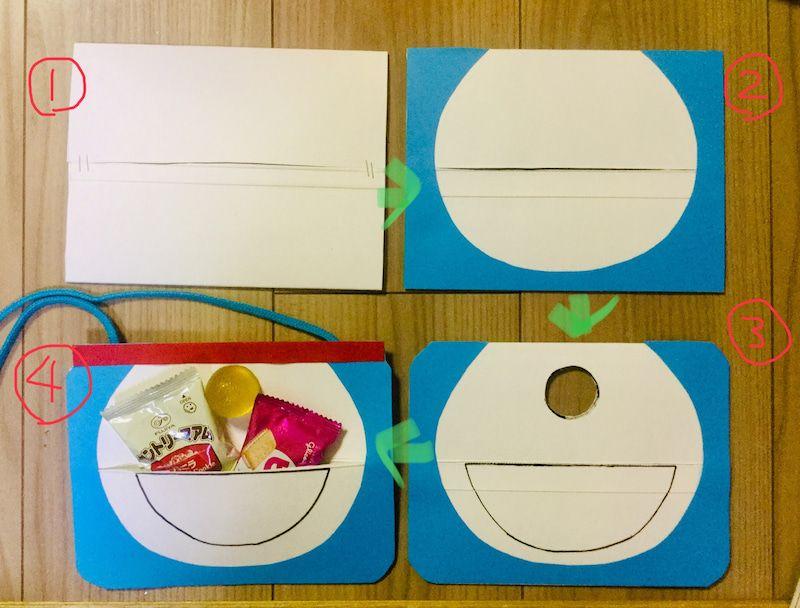 ドラえもんポケット 幼稚園バザー 作り方 ドラえもん ポケット 幼稚園の工作 誕生日 メッセージカード 手作り