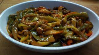 cucina di casa: peperoni al forno