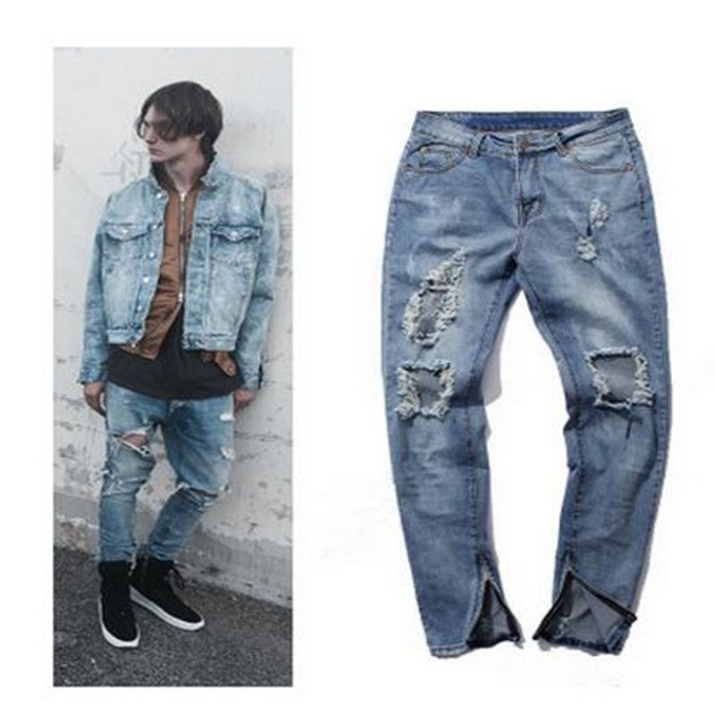 Popular Mens Destroyed Jeans-Buy Cheap Mens Destroyed Jeans lots ...