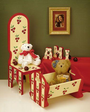 Children's Cherry Furniture Kersen en Paints