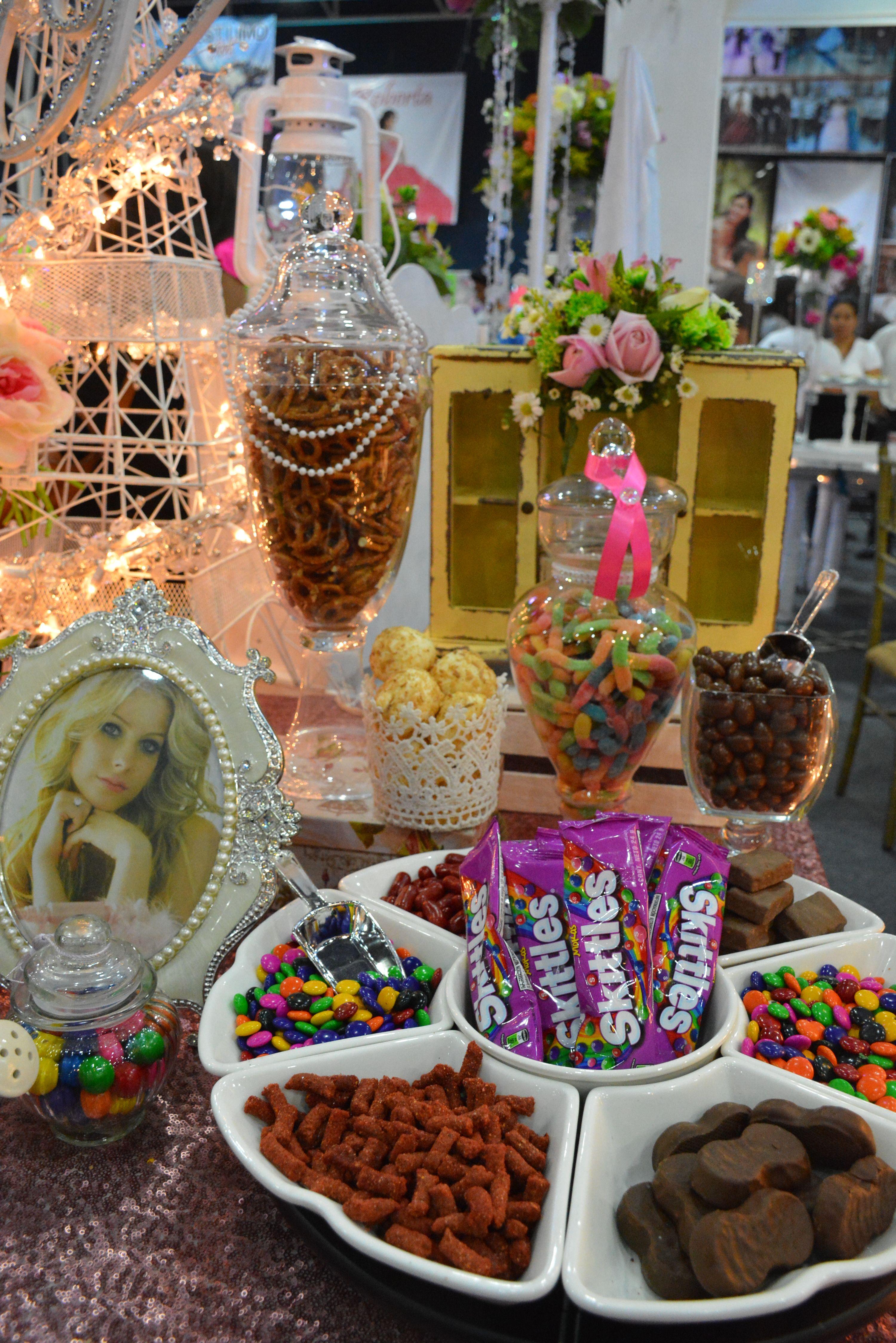 Mesa de Dulces para quince años #quinceaños #quince #XV #mesadedulces  #candy #expoquinceañera | Mesa de dulces, Dulces, Mesa de dulces bautizo