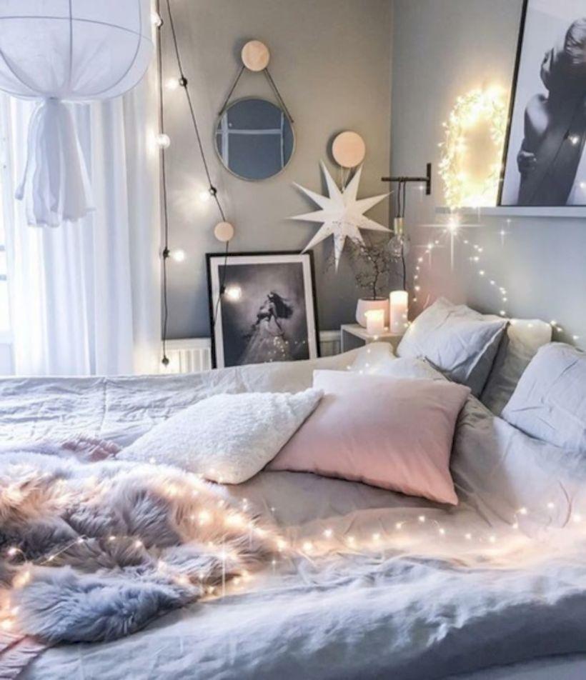 63 Cozy Bohemian Teenage Girls Bedroom Ideas   Cozy room ... on Cozy Teenage Room Decor  id=62784
