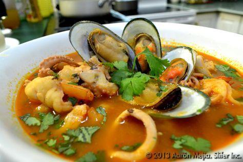 Sopa Vuelve A La Vida Mariscos Congelados Sopa De Mariscos Y