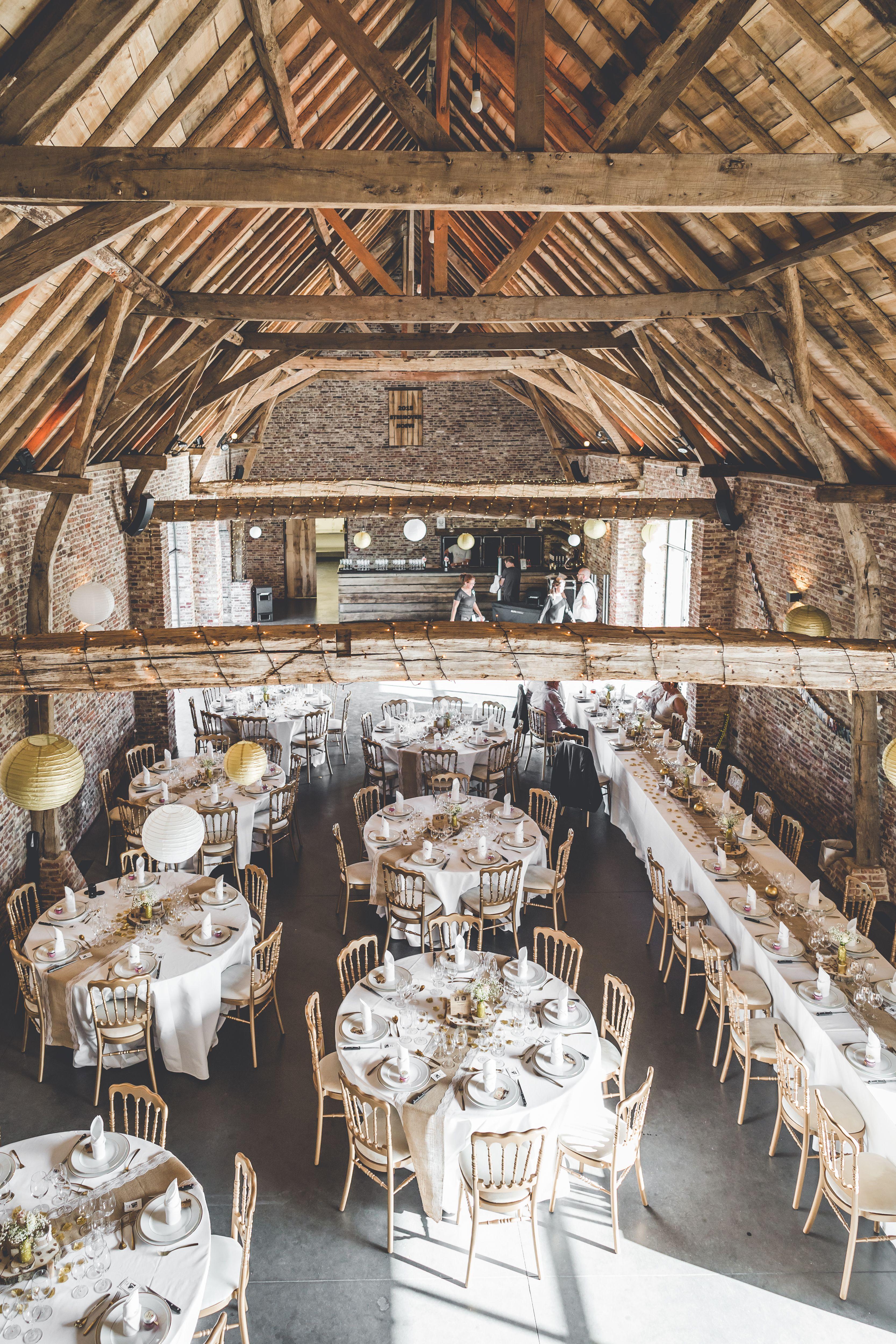 Wonderlijk Foto: www.alexvdb.be #wedding #barnwedding #trouw #trouwfeest XS-79
