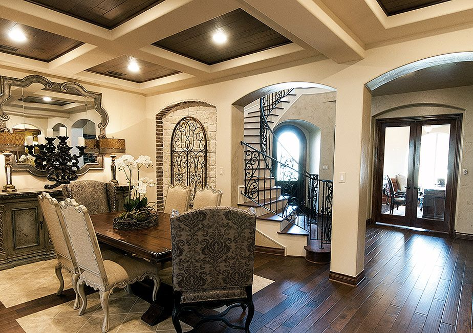 Tuscan Style Formal Dining Room By DR Horton FindYourHome