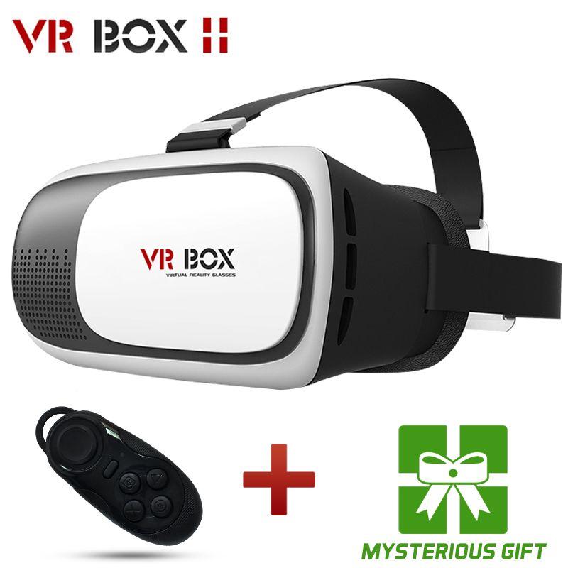 99e86c3c94 HOT Google cardboard VR BOX II 2.0 Version VR Virtual Reality 3D Glasses  For 3.5 - 6.0 inch Smartphone+Bluetooth Controller 1.0