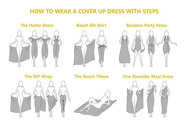 d81c25792c Tropical Leaf Print Plus Size Cover Up Maxi Dress