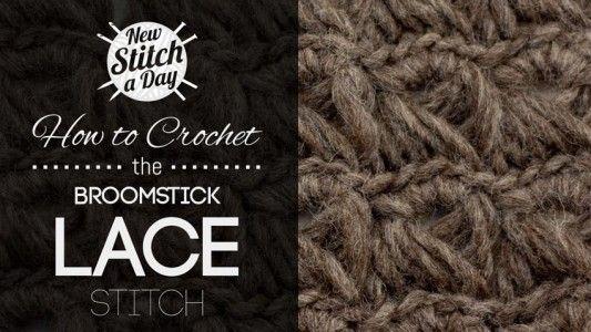 Crochet Lace and Shells :: New Stitch A DayCrochet Lace and Shells :: New Stitch A Day
