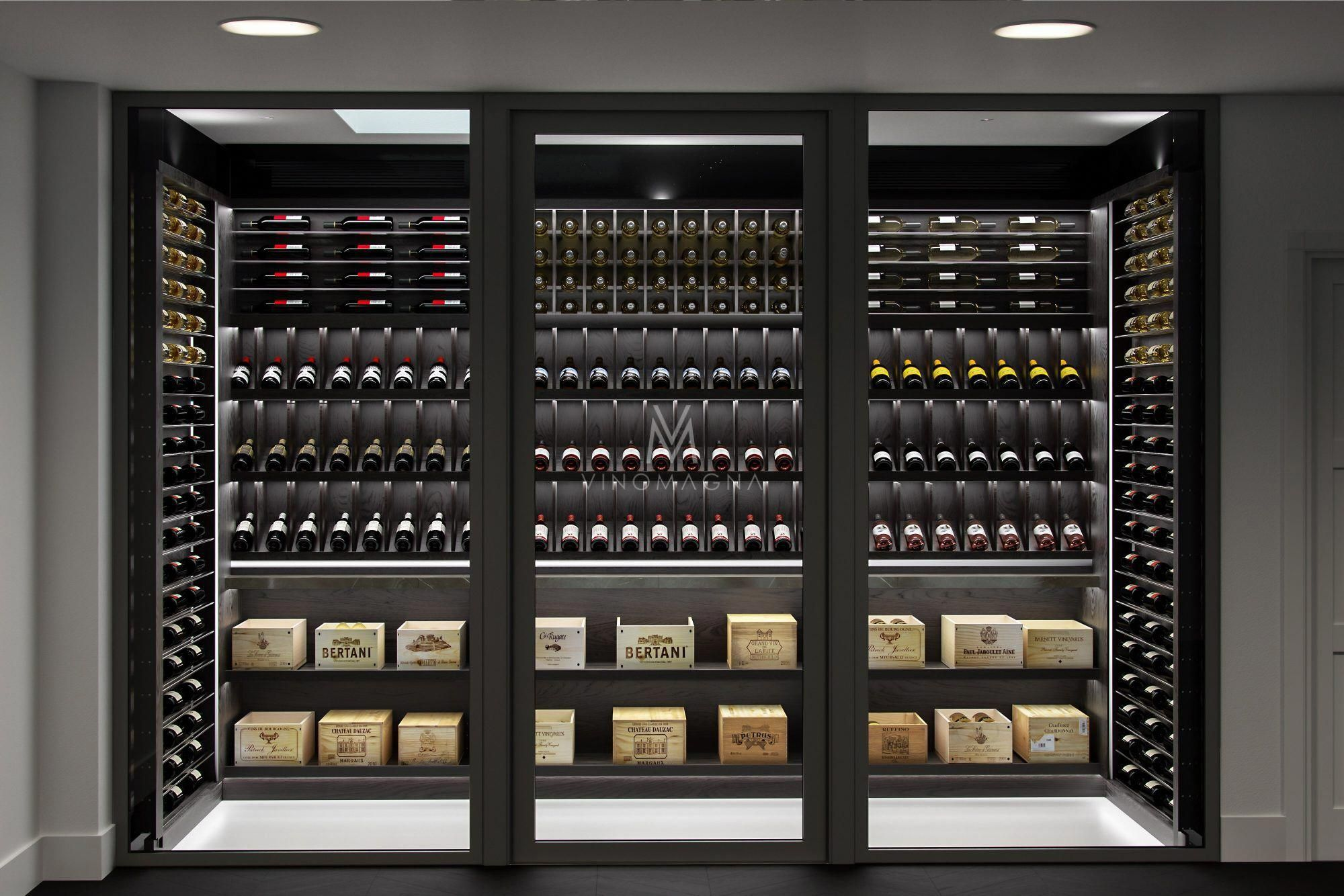 Modern Basement Design Modernbasementdesign Home Wine Cellars
