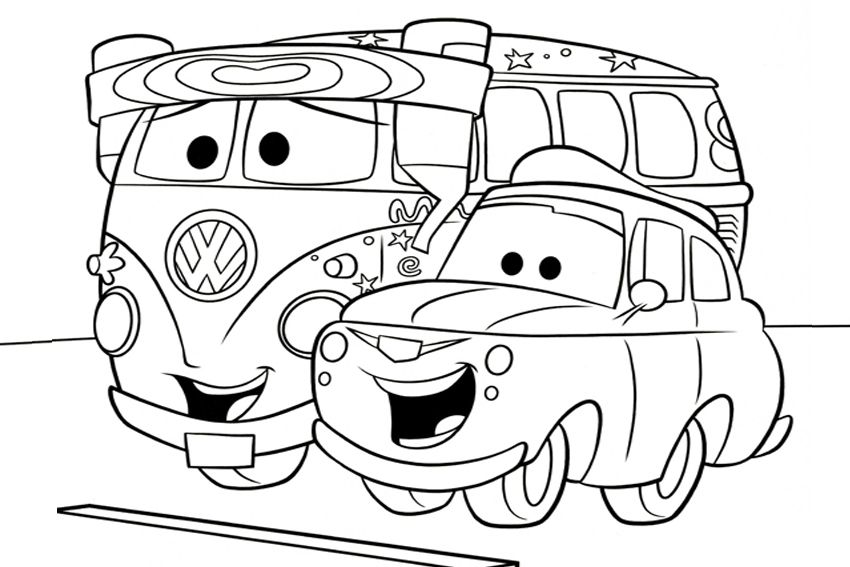 Cars Coloring Pages Cars coloring pages, Race car