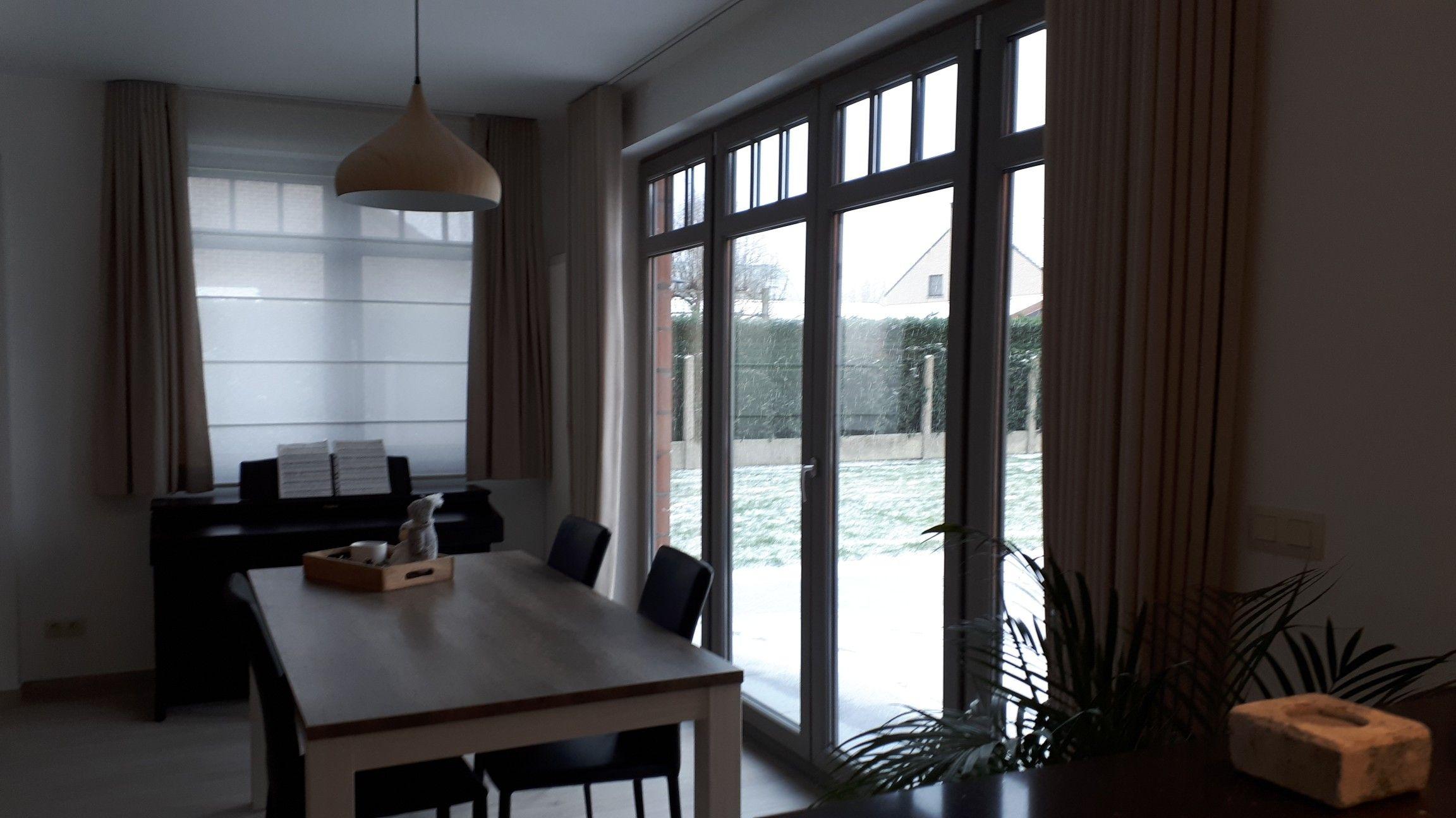 Inside blinds vouwgordijnen met inside blinds