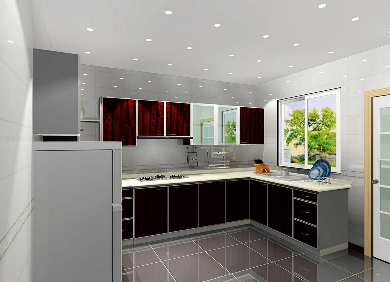 Outstanding 25 Minimalist L Shaped Kitchen Design For Small Kitchen Ideas Https Usdeco Kitchen Design Software Simple Kitchen Design Simple Kitchen Cabinets