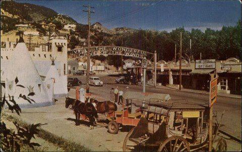 Manitou Springs 1940's #manitousprings