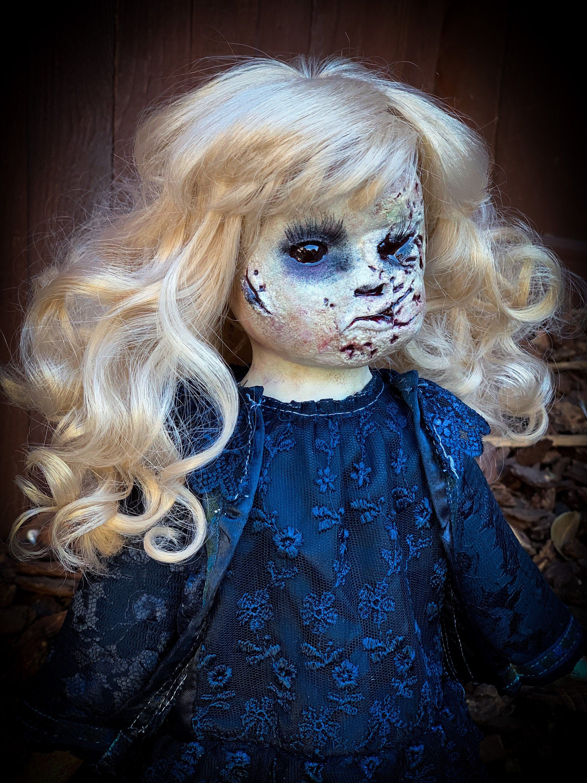 Creepy Doll Zombie Doll Halloween Decoration Collectors Artist
