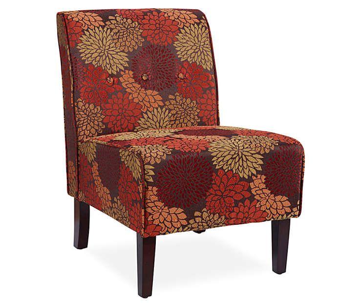 Surprising Harvest Marigold Armless Accent Chair Second Livingroom Dailytribune Chair Design For Home Dailytribuneorg