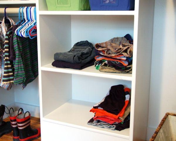 Take The Side Street: A Custom Closet On The Cheap