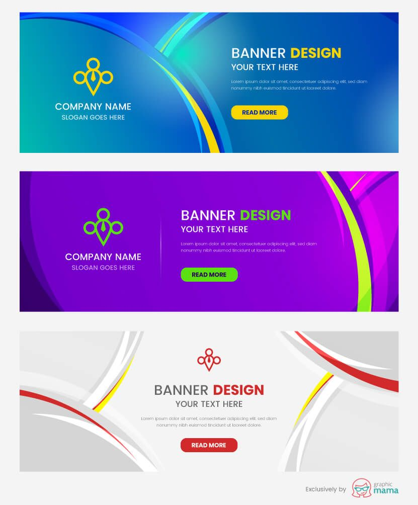 21 Free Banner Templates For Photoshop And Illustrator Free Banner Templates Banner Design Banner Template