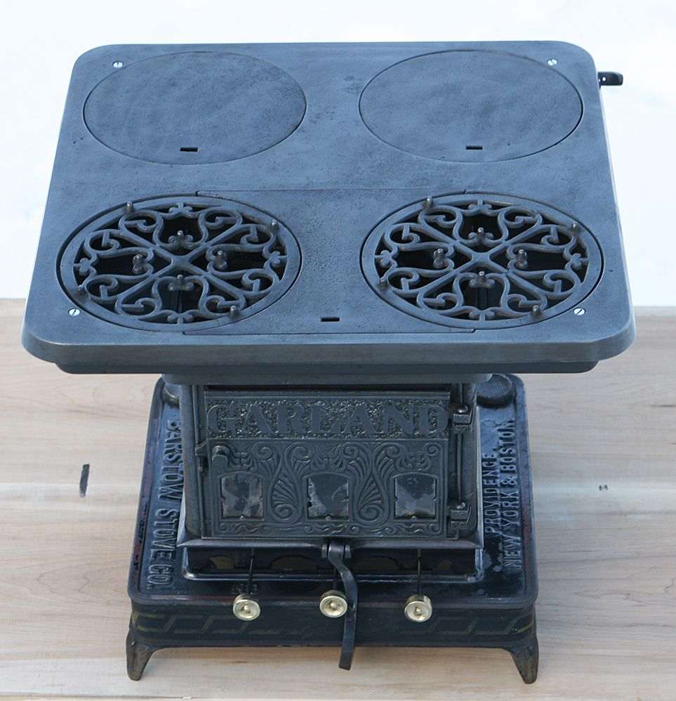 Antique Rare Cast Iron GARLAND Oil Stove Made By Barstow Stove ...