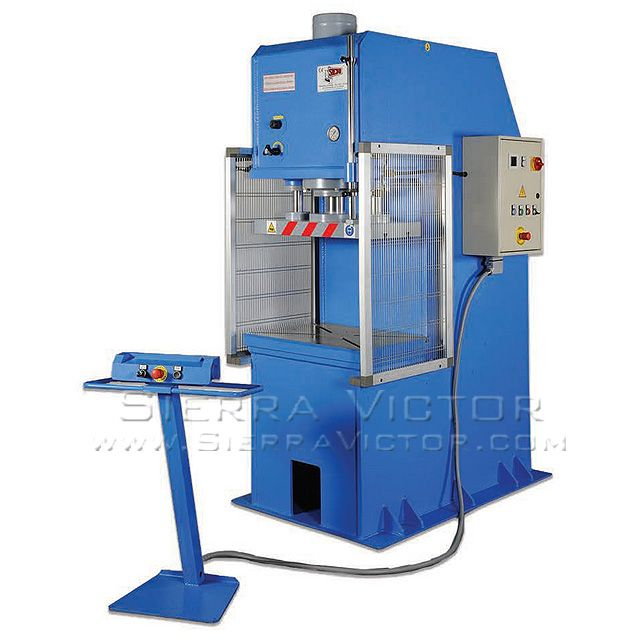 100 Ton DAKE® Automatic C-Frame Press – Model PCL 100A. MADE IN USA! Need a quote? More information? Want to order? CALL 386-304-3720, EMAIL info@sierravictor.com, VISIT http://sierravictor.com/index.php?dispatch=products.view&product_id=4103