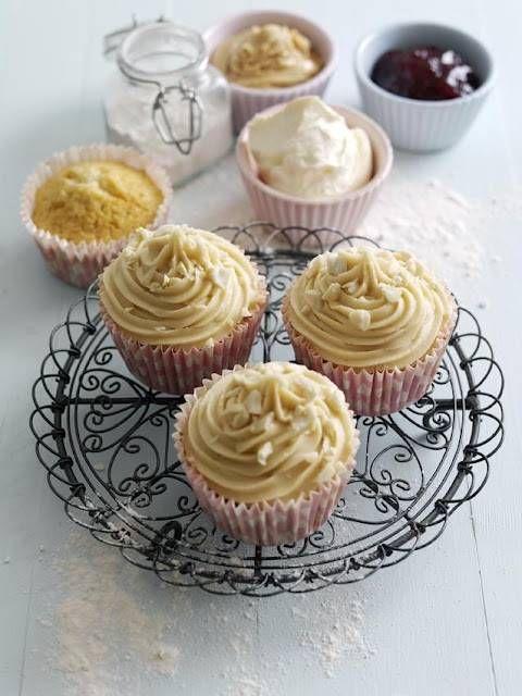 Peanut Butter and Jam Cupcakes By Debbie Nicholas