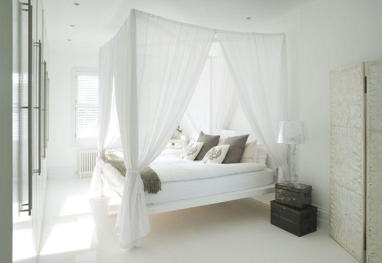 Chambre Blanche En 65 Super Idees De Meubles Et Decoration La Deco