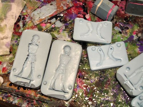 Sucklord Creature molds