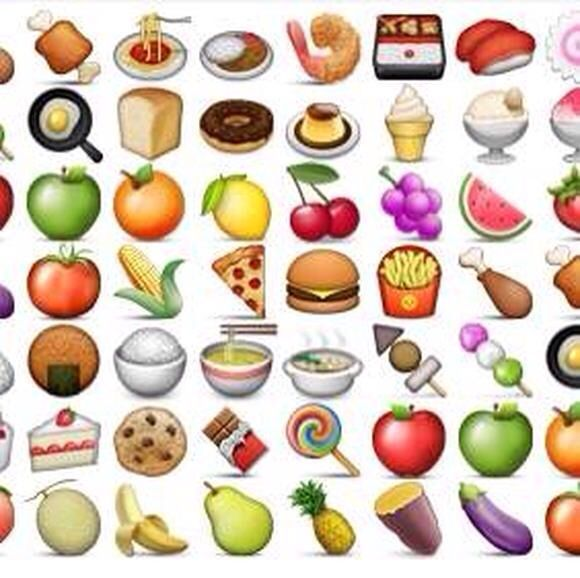 Food Emoji's.
