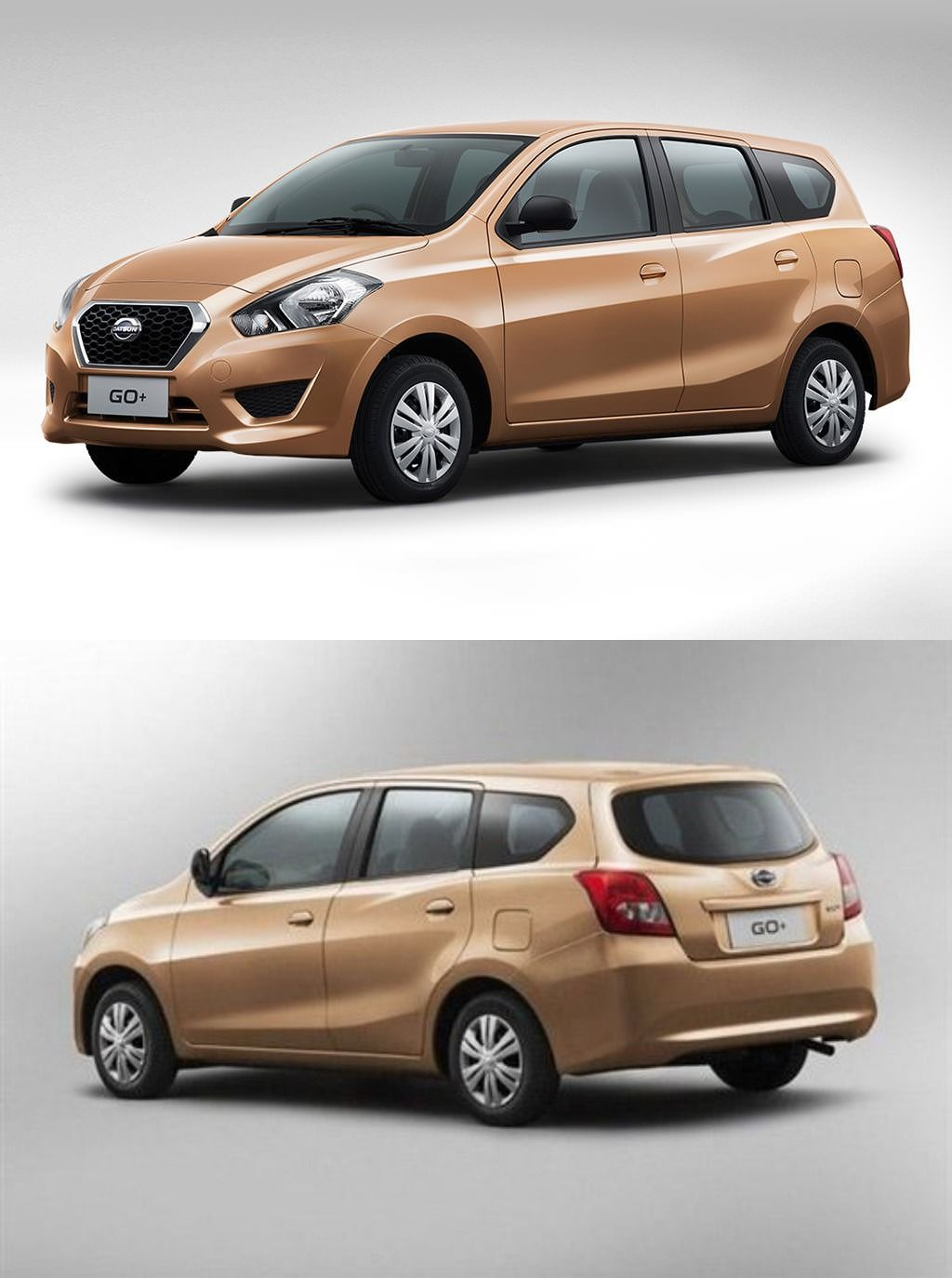 Datsun Go Plus A 7 seater second high end variant of