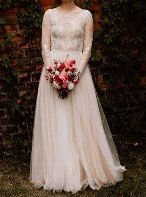 Suknia Slubna Koronka Sylwia Kopczynska 2017 R 36 6879207514 Oficjalne Archiwum Allegro Dresses Victorian Dress Wedding Dresses Lace