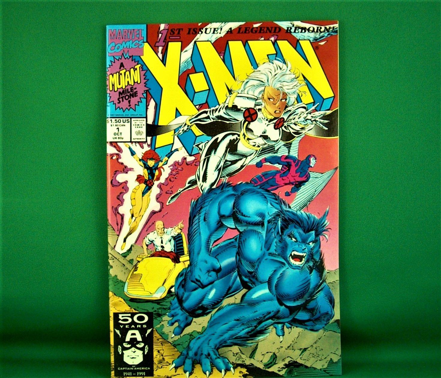 Marvel Comics X Men 1 October 1991 In 2020 Marvel Comics Comics Xmen Comics