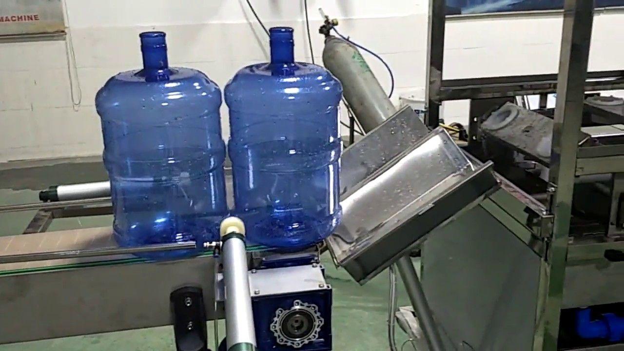 450bph 20liter Pail Bucket Barrel Bottled Pure Water 5 Gallon